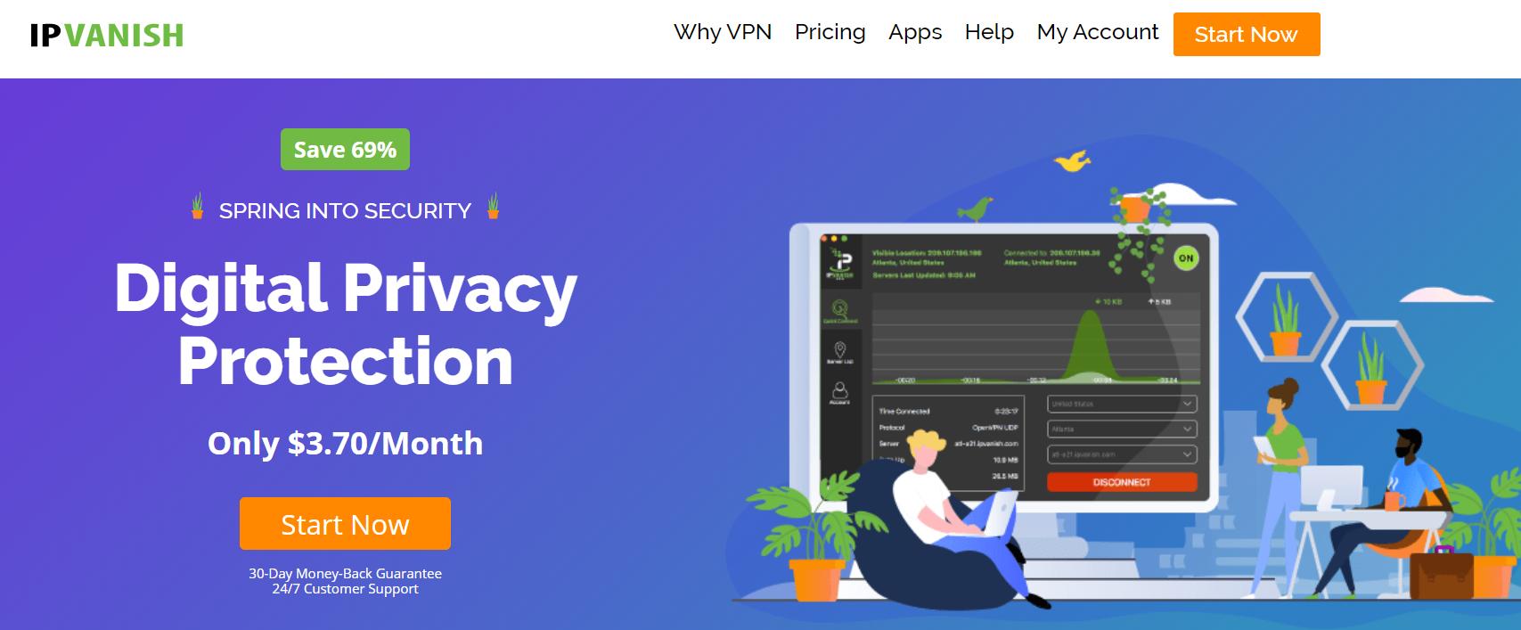 NordVPN Vs IPVanish - IPVanish VPN