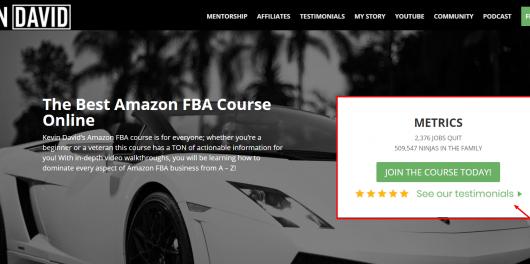 Kevin David's Amazon FBA
