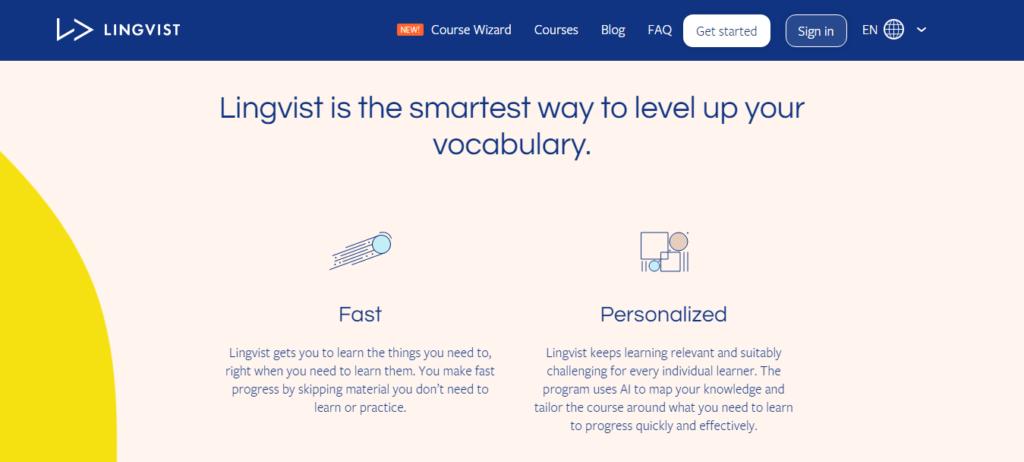 Lingvist Format