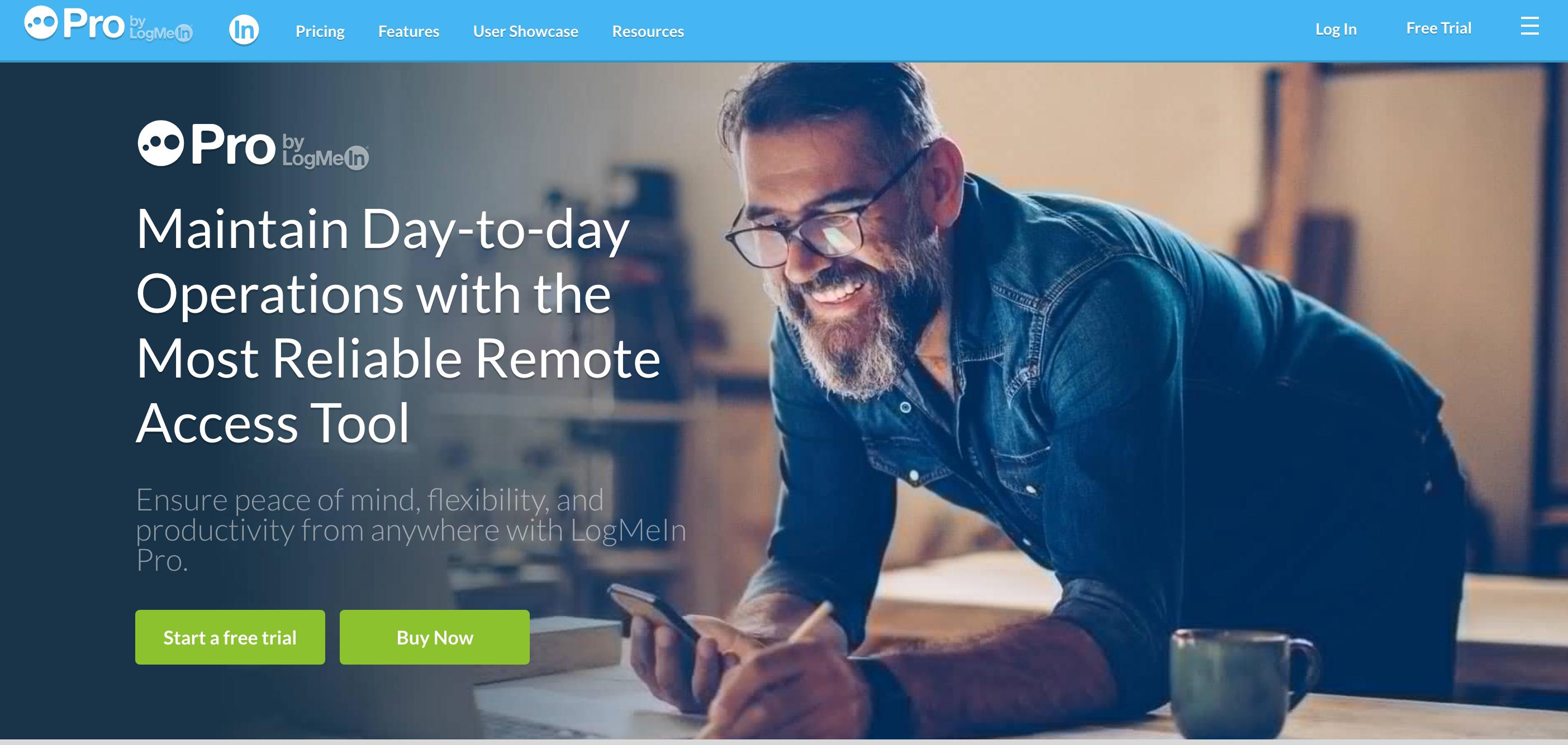 LogMeIn Pro- Remote Desktop Software