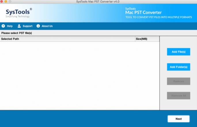 Mac PST Converter SysTools