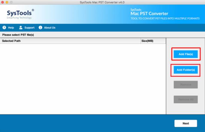 Advanced Mac PST files Converter