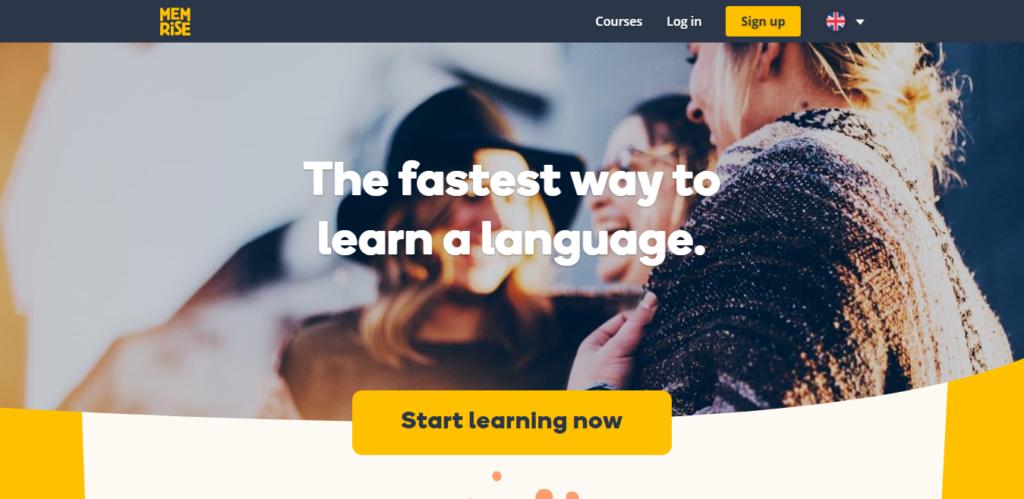 Memrise Language learning app
