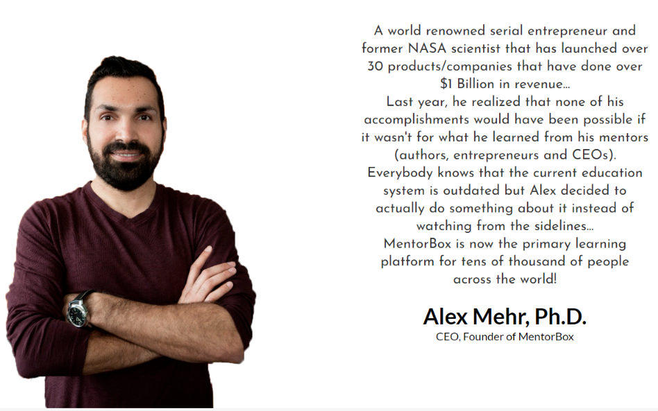 MentorBox Review - Alex Mehr
