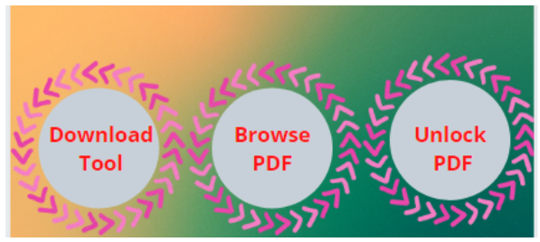 PDF Unlocker Tool - Download Tool