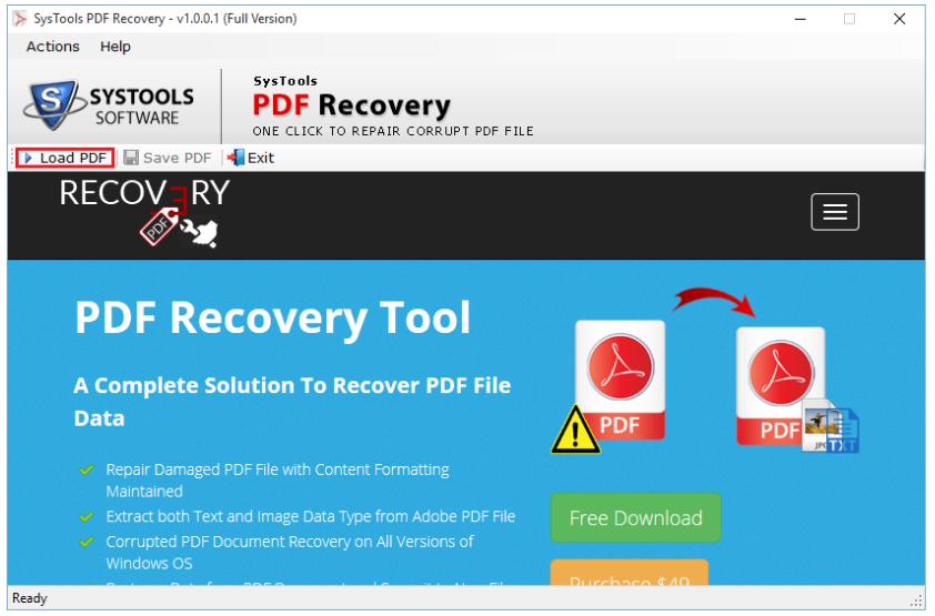 PDF Unlocker Tool - PDF Recovery