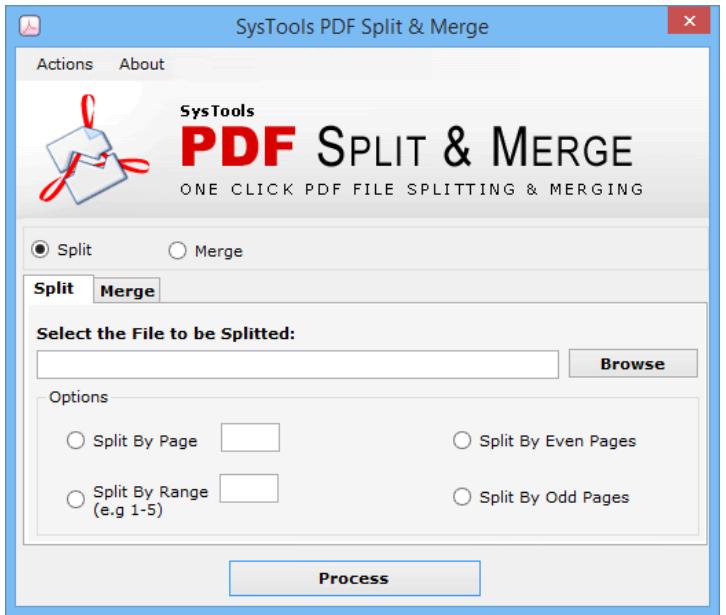 Best PDF Unlocker Software - Split & Merge
