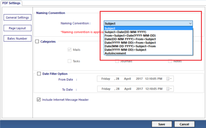 PST Files Converter- Advance Converter