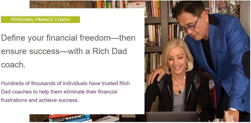 Rich Dad Poor Dad - Personal Finance Coach