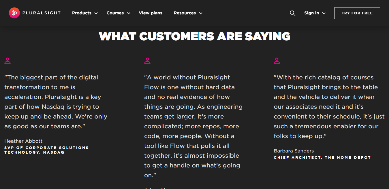 Pluralsight Customer Reviews