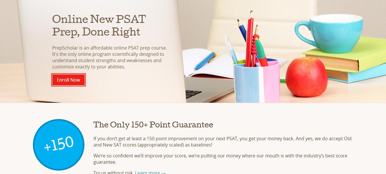 Prepscholar PSAT Course