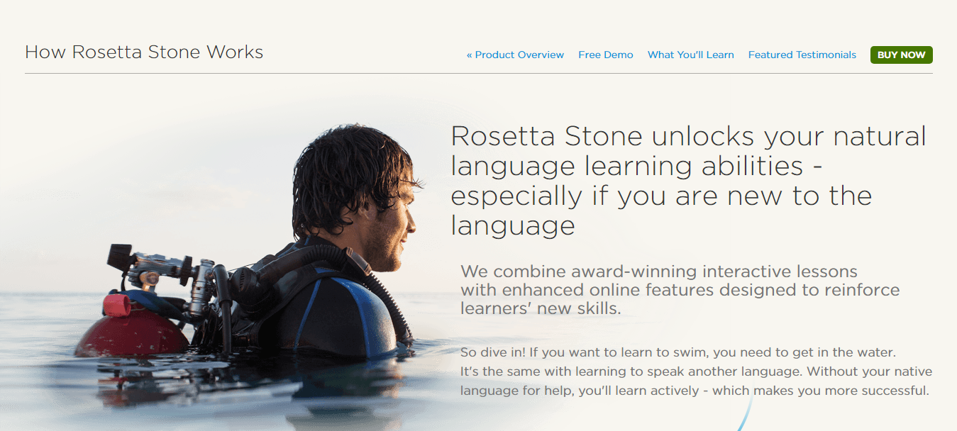 Rosetta Stone Methodology