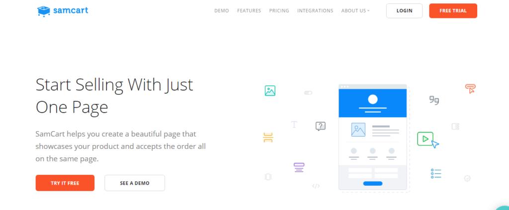 SamCart-Online Business