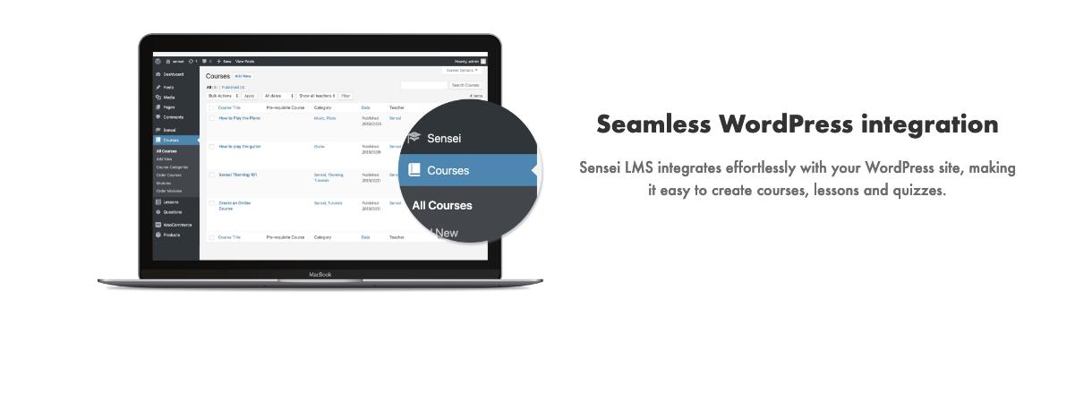 Sensei Seamless Integration
