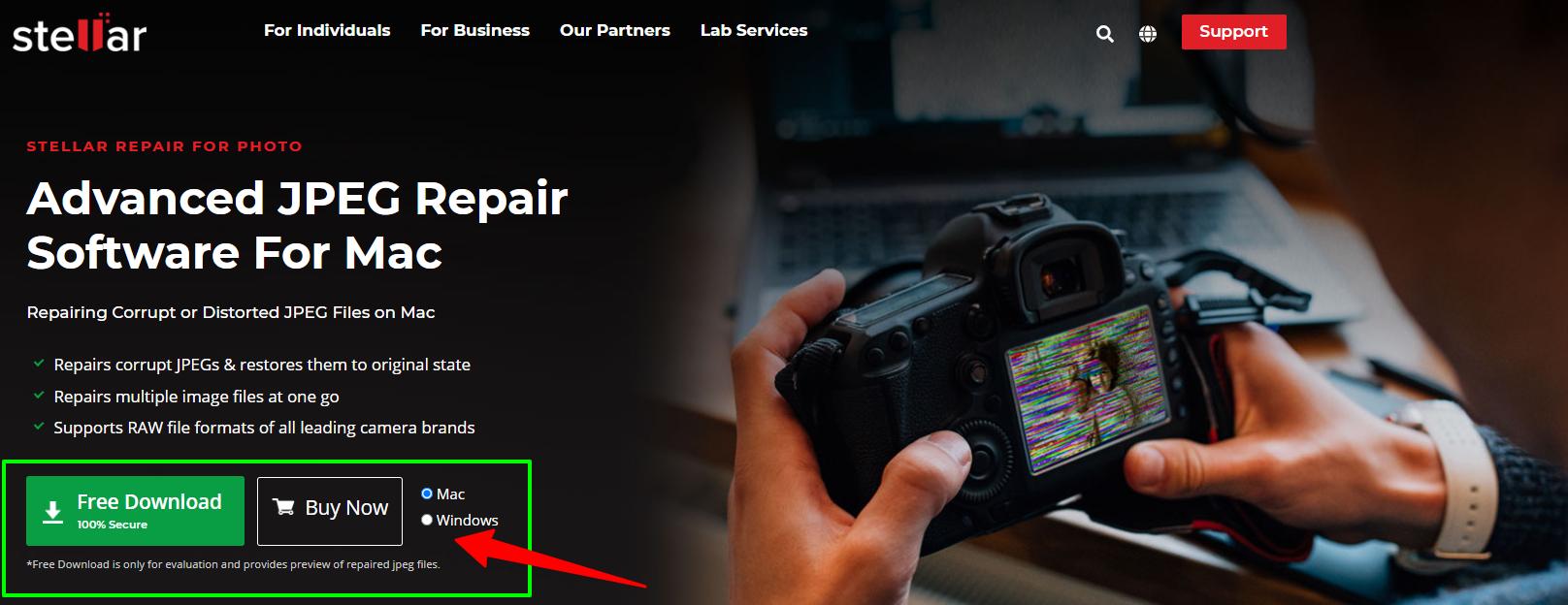 _ Repair Corrupt JPEG Images - Stellar