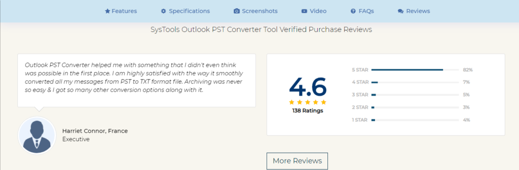SysTools PST Converter Reviews