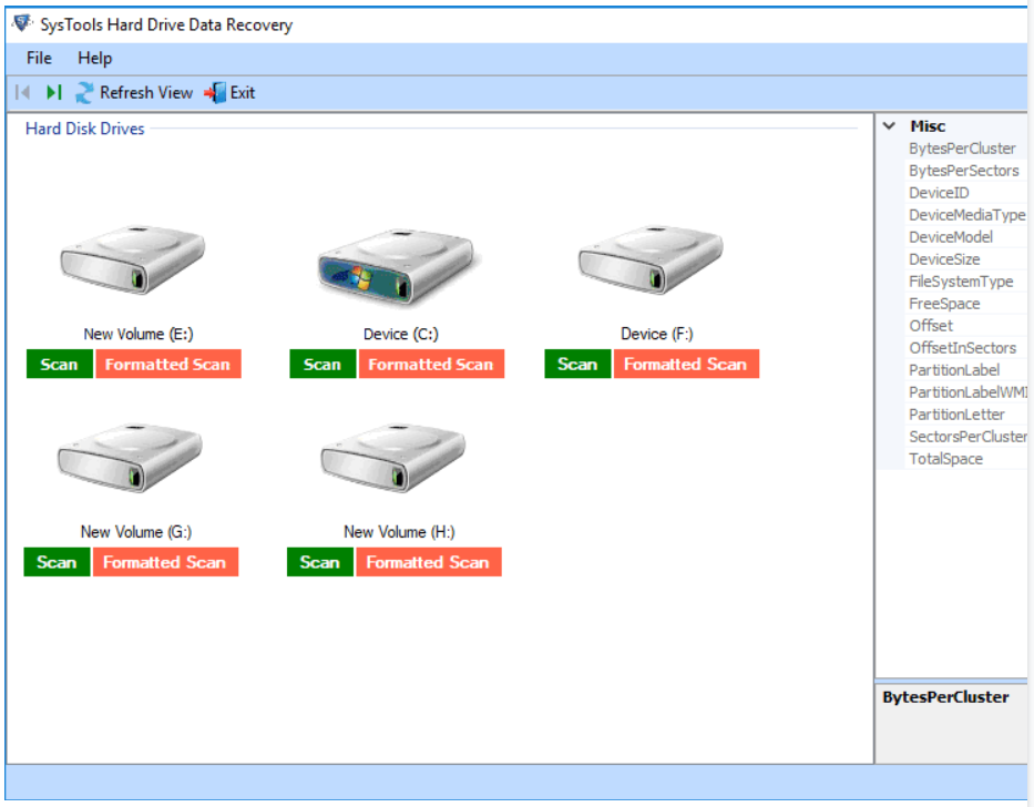 SysTools Data Recovery Software - Data Recovery Software