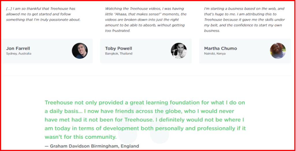 TreeHouse - Customer Review