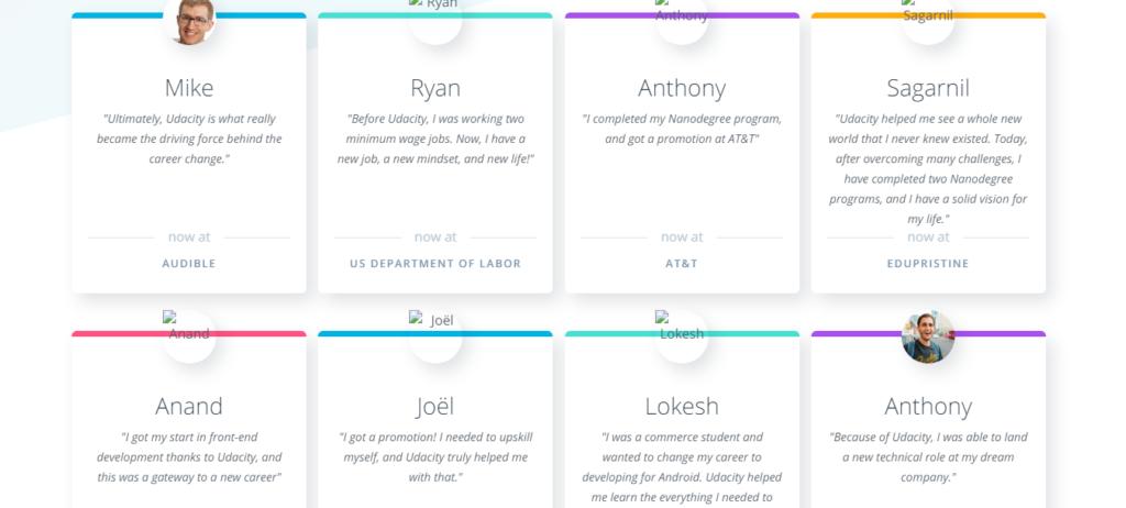 Udacity Customer Reviews