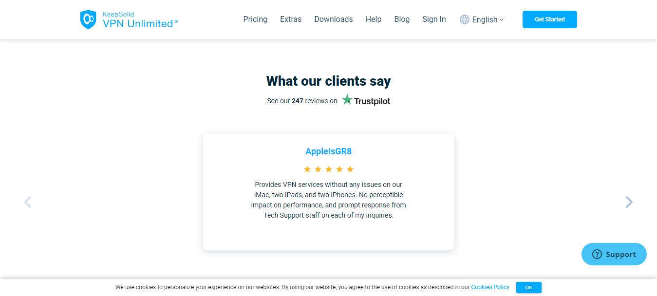 VPN Unlimited Customer Reviews