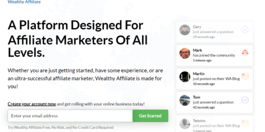 Wealthy Affiliate Review - Wealthy Affiliate