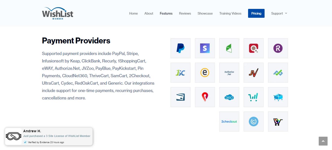 Wishlist Member Payment Gateways