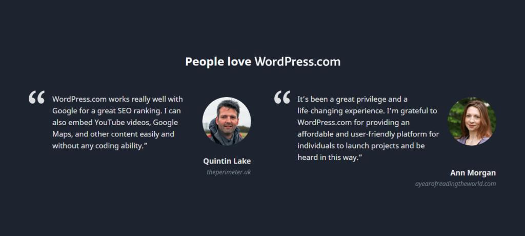 WordPress Customer Reviews