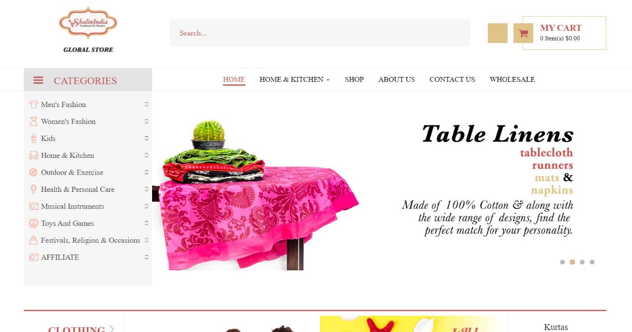 Shalinindia- Shopify India Store