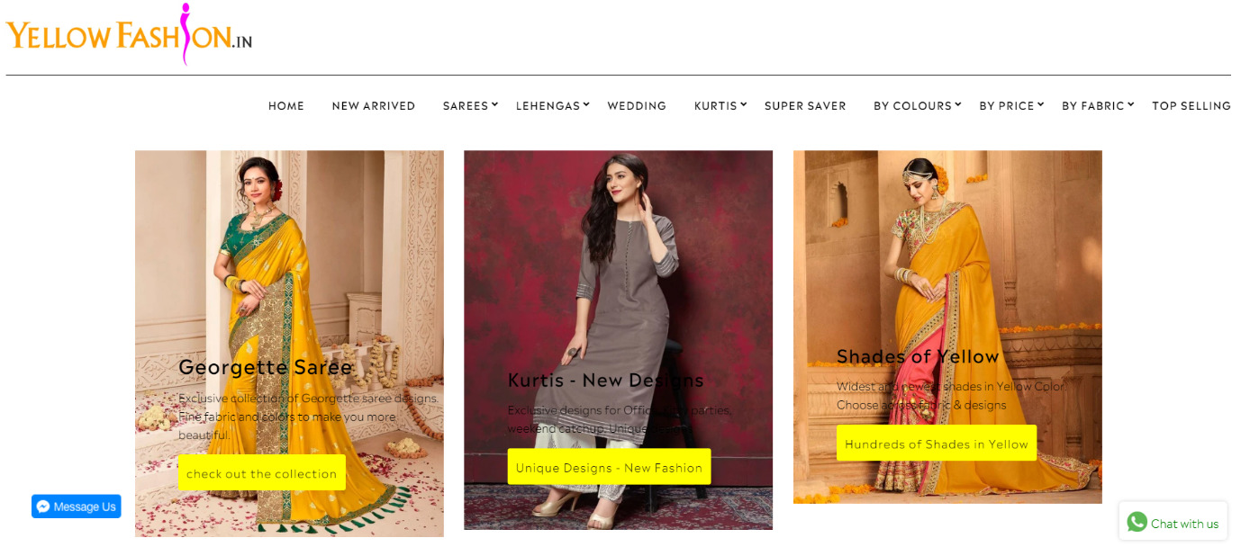 Yellowfashion- Shopify India Store