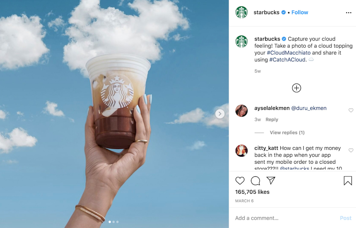 Visually compelling content on Instagram