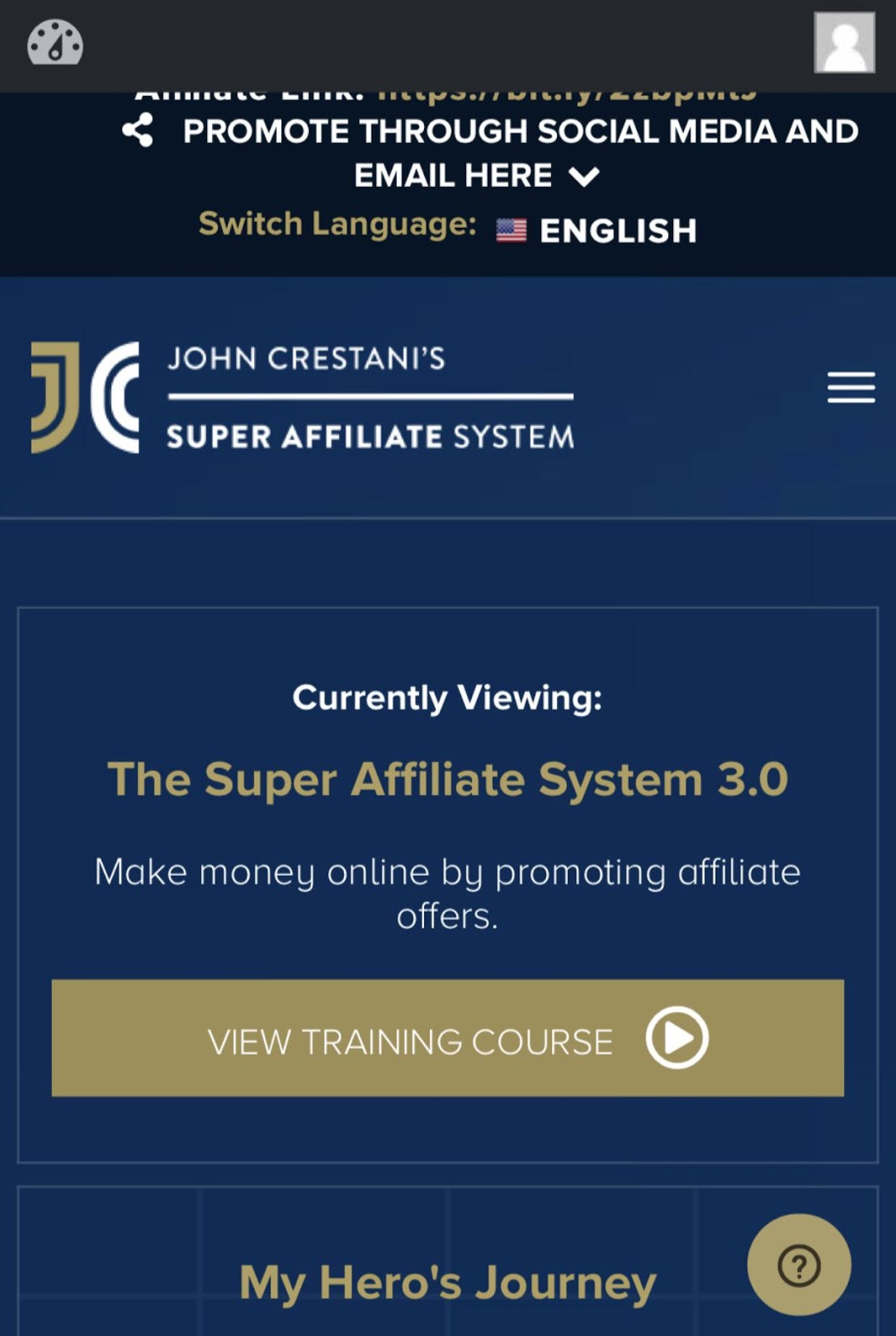 Super Affiliate System Review - John Crestani