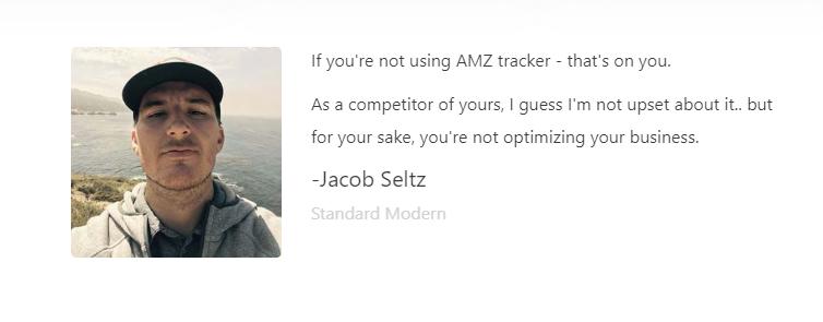 AMZ_Tracker - Testimonials