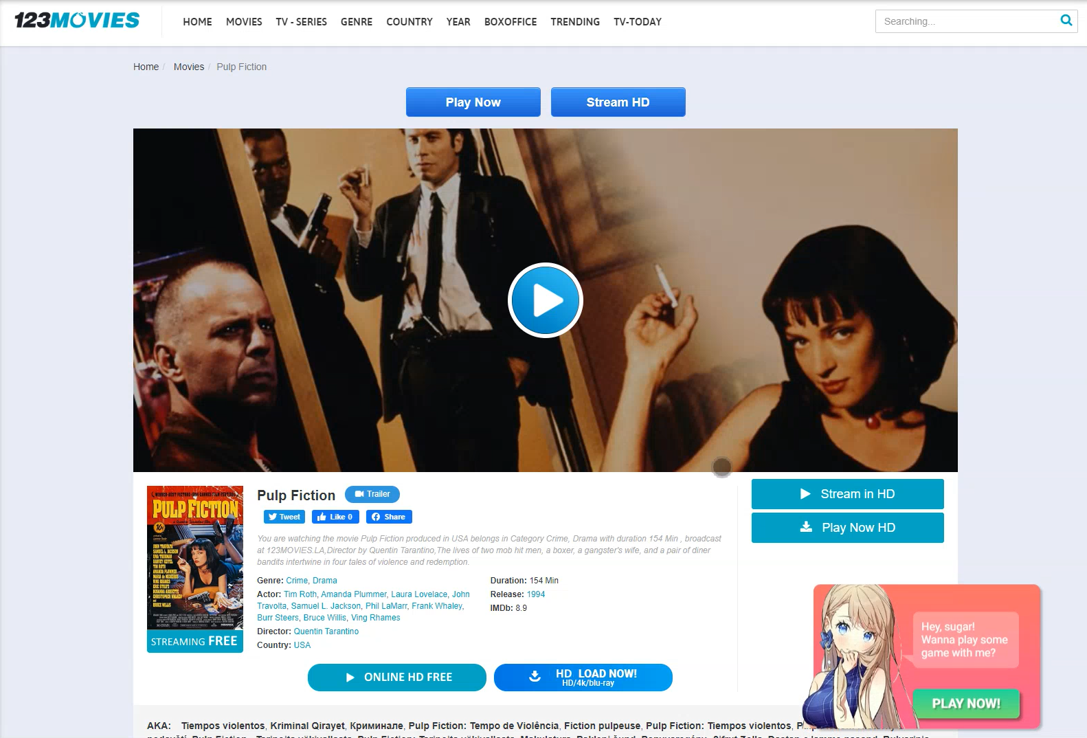 Adsterra Social bar examples