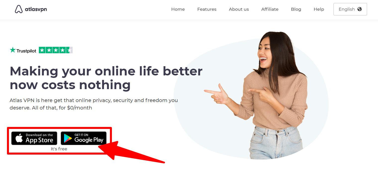 How To Find The Best Free VPN In - Atlas_VPN_