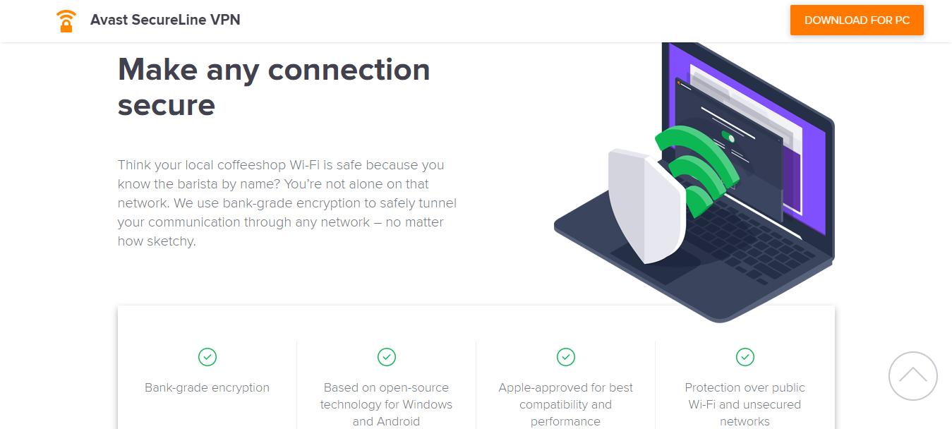 Avast SecureLine VPN security