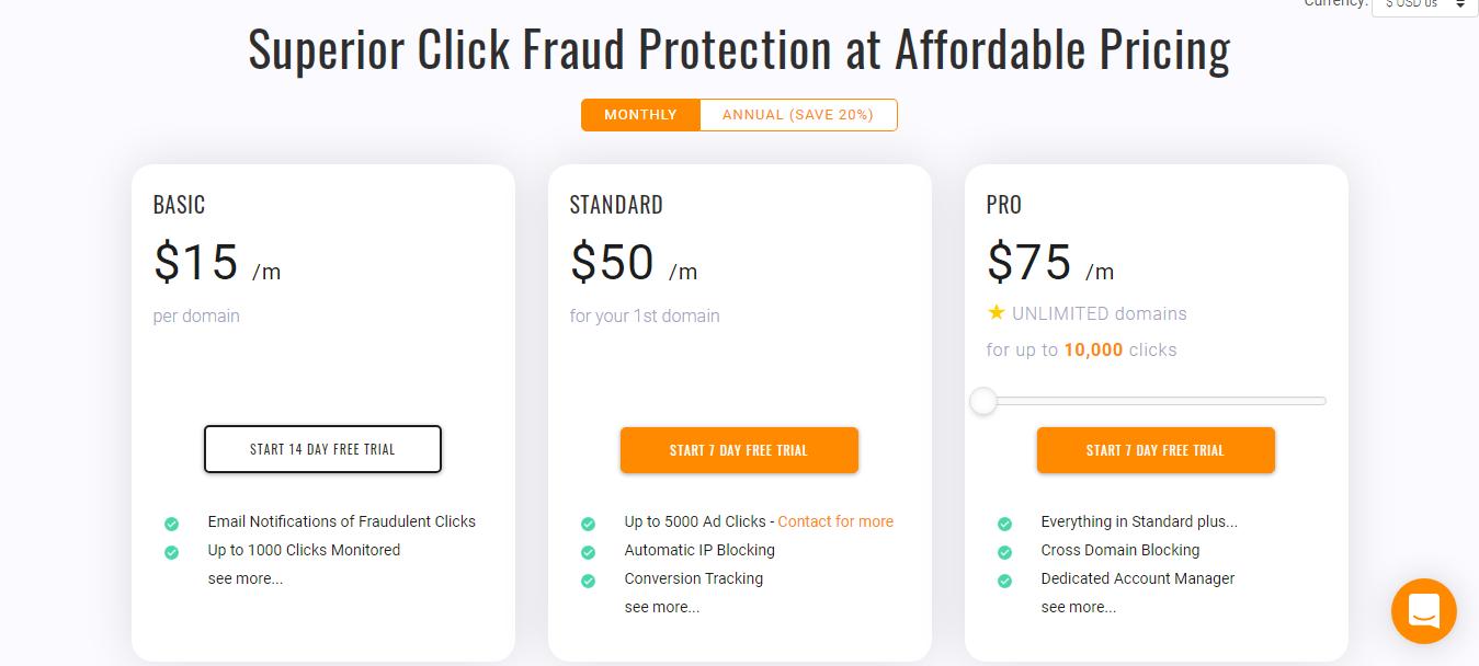 ClickCEASE Pricing