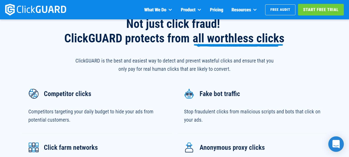 ClickGUARD Features