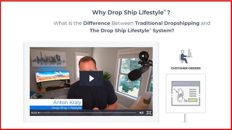 Drop-ship Lifestyle DSL