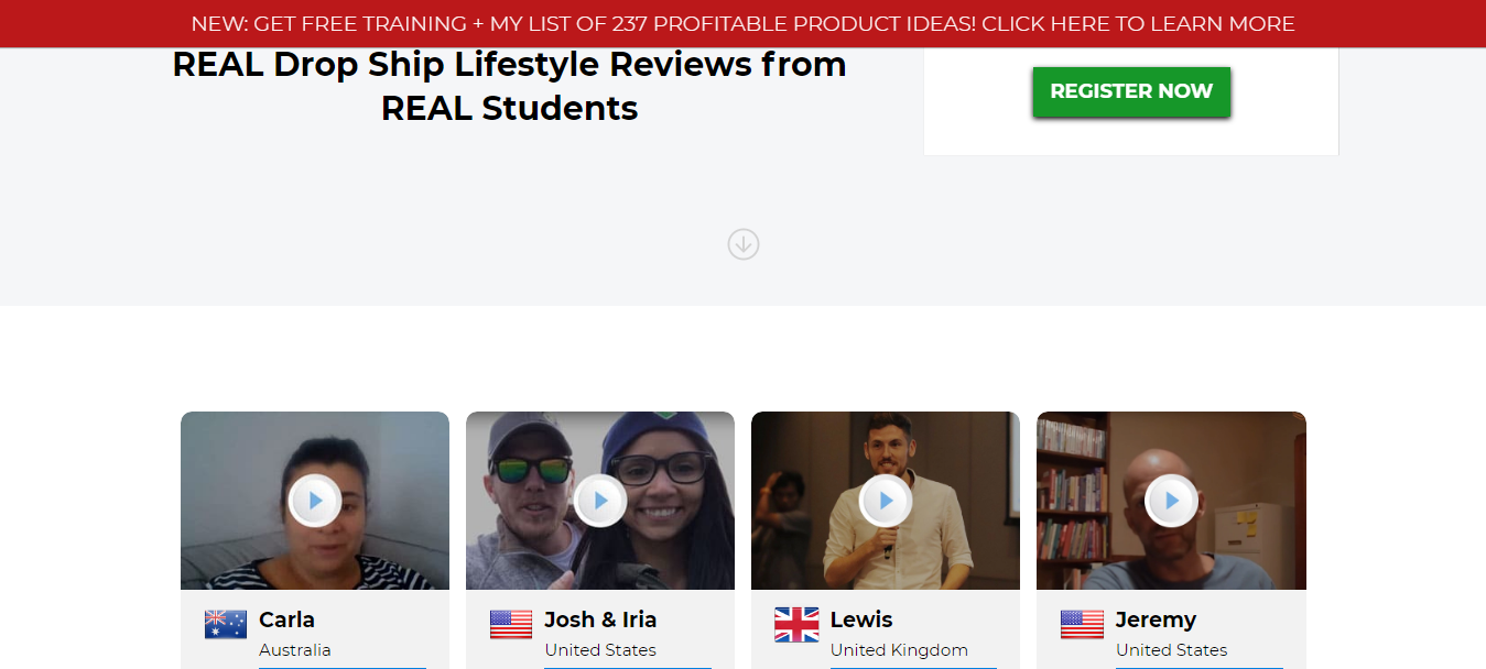 Dropship Lifestyle- Customer Reviews & Testimonials