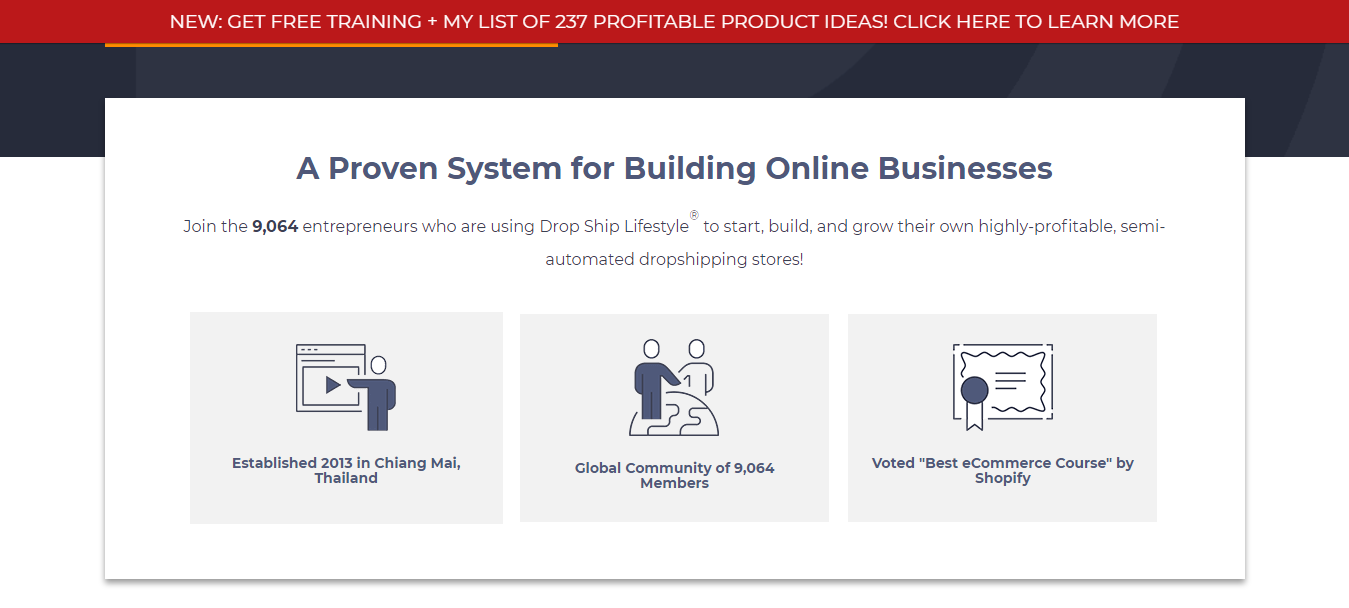 Dropship Lifestyle- Proven system