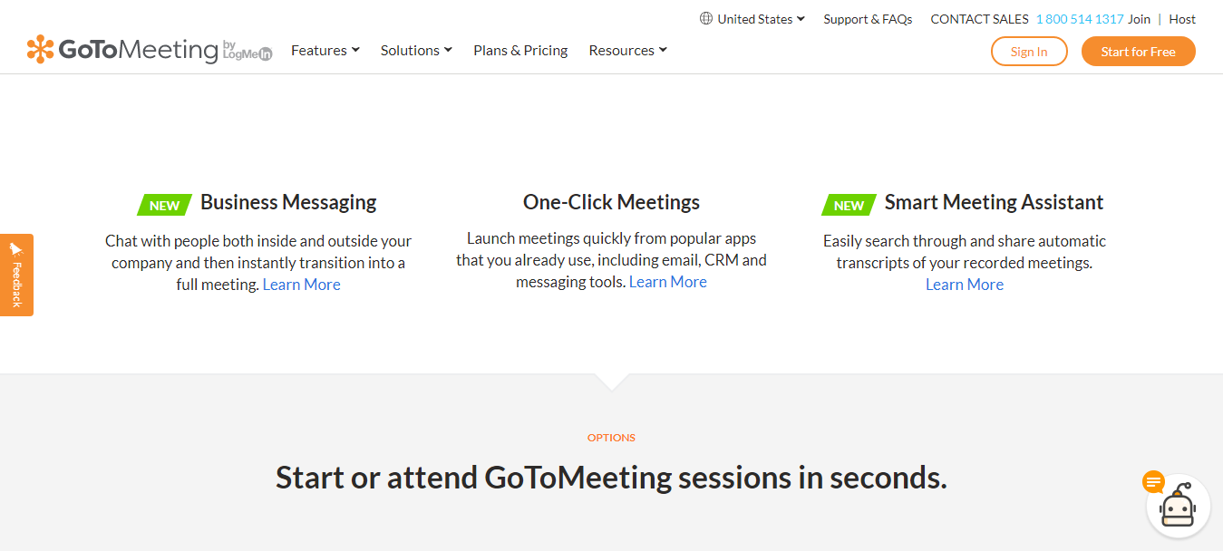 GoToMeeting Ease to use