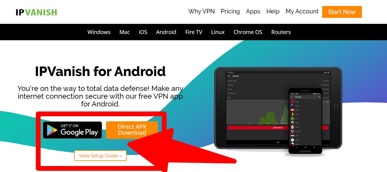 IPVanish - Android