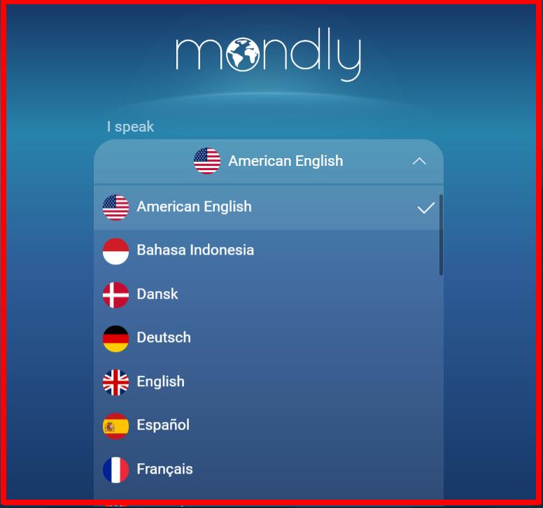 Mondly - Language