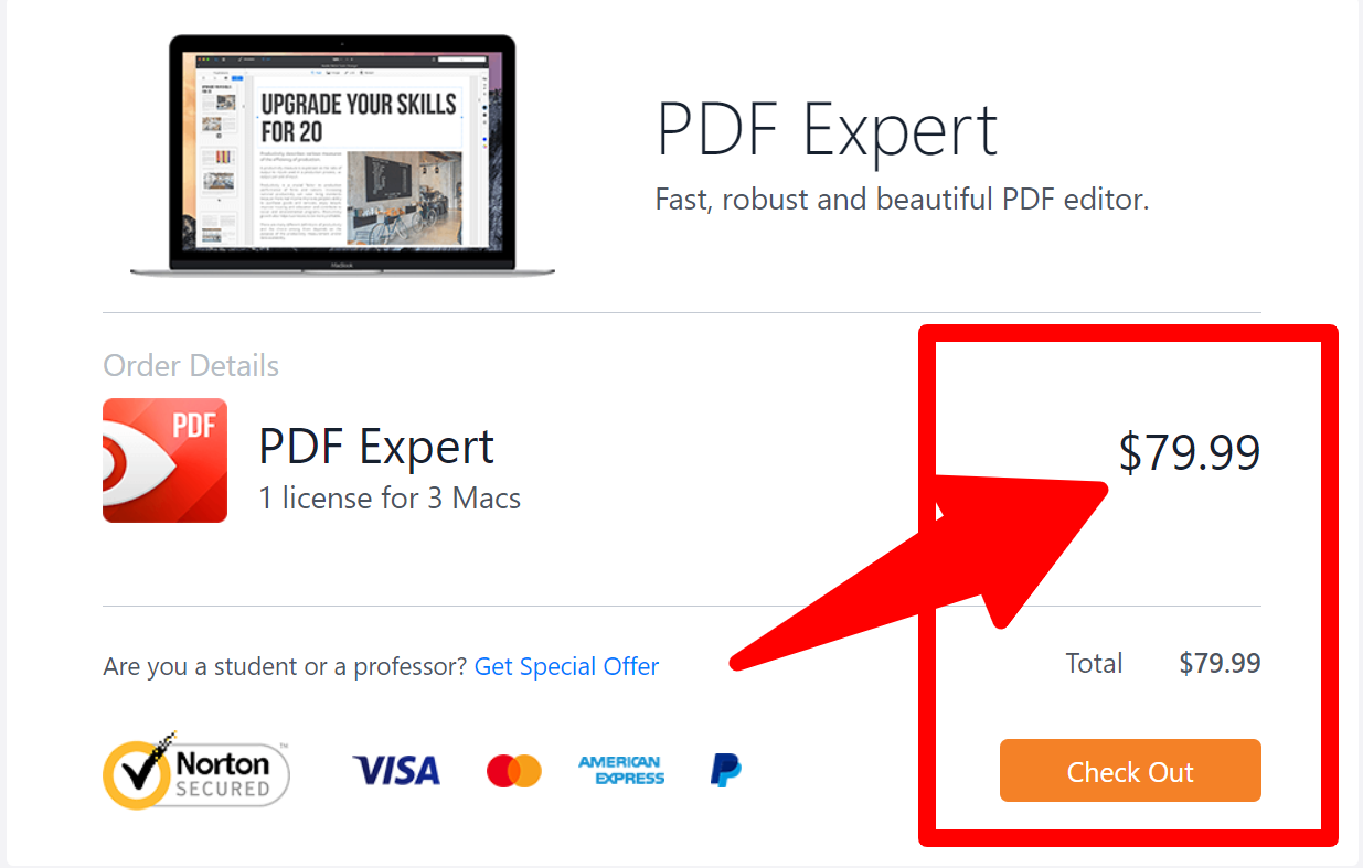 PDF_Expert - Pricing Plan