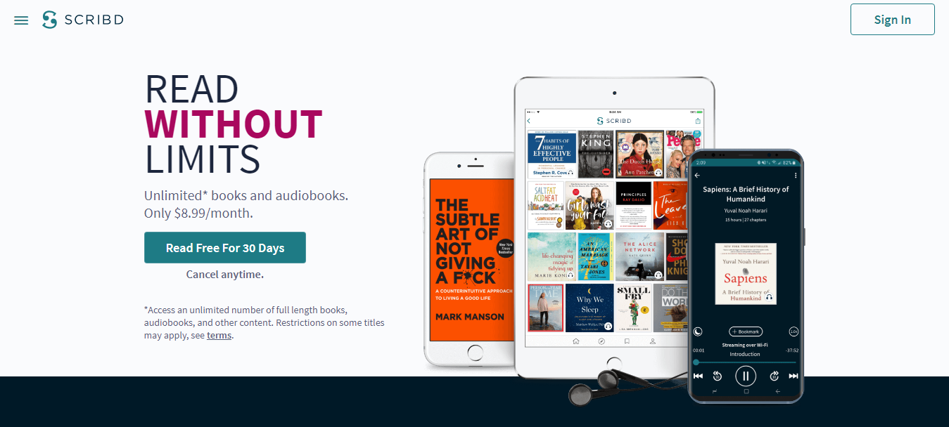 Scribd Pricing Review