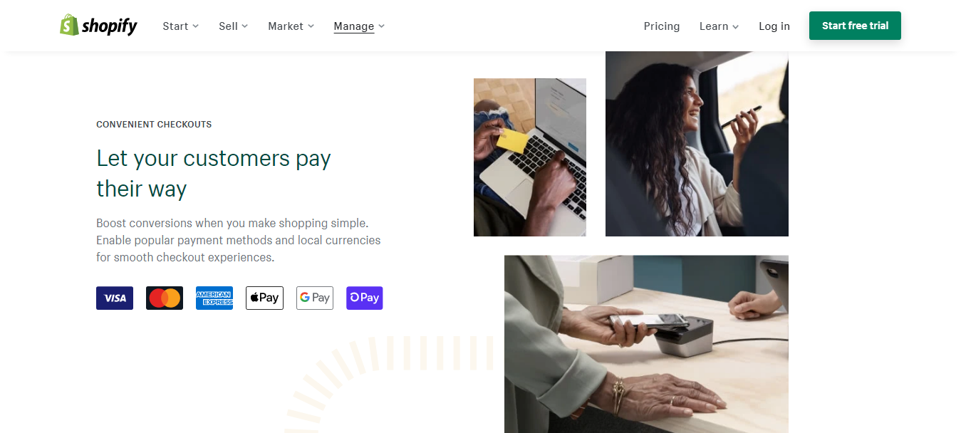 Shopify Online Payment