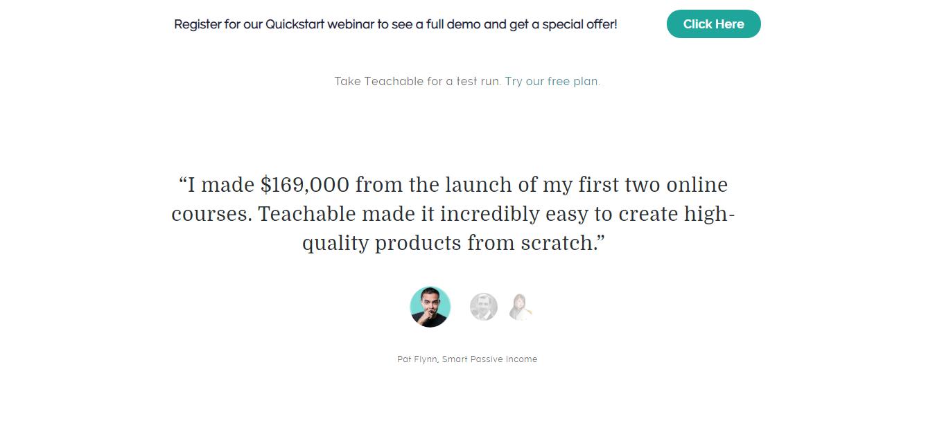 Teachable Customer Reviews