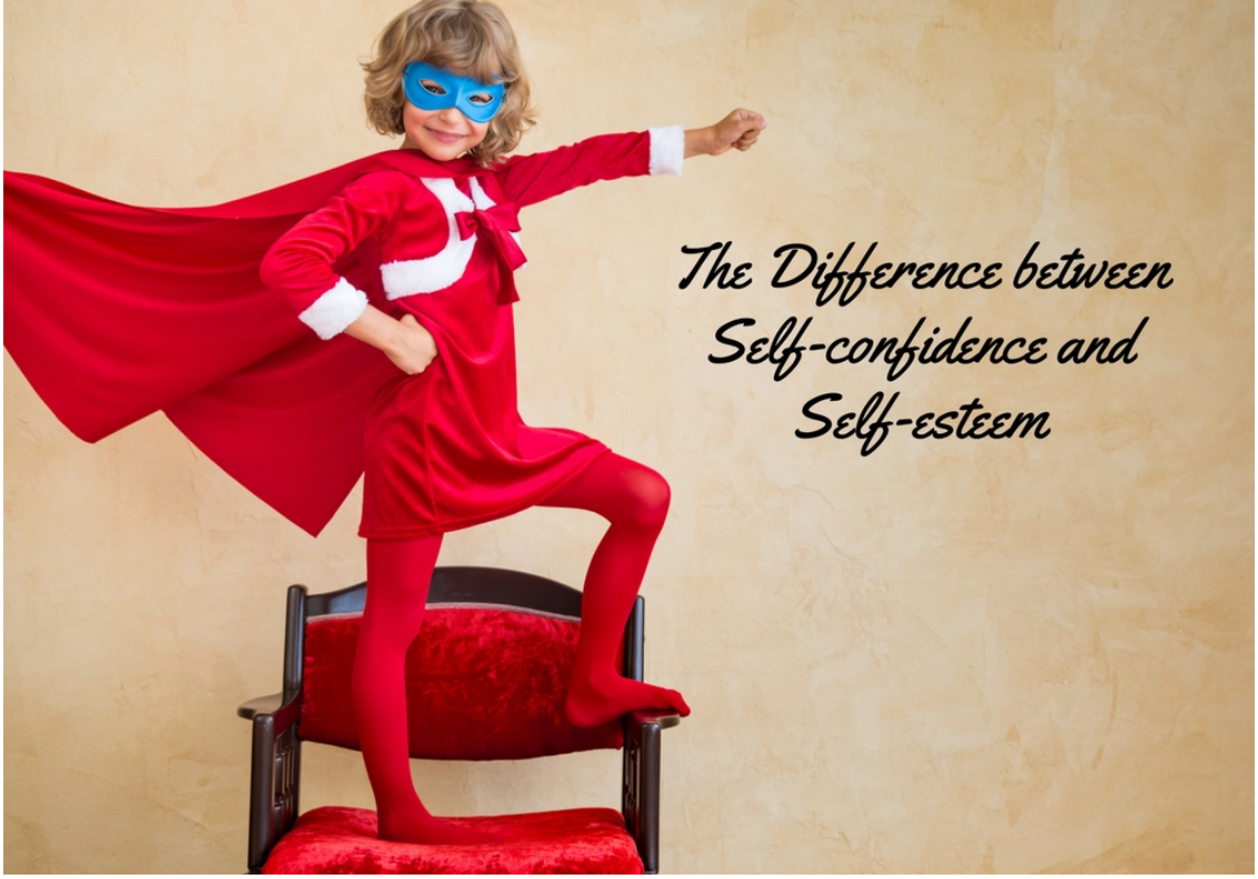 The Difference between Self-confidence and Self-esteem.