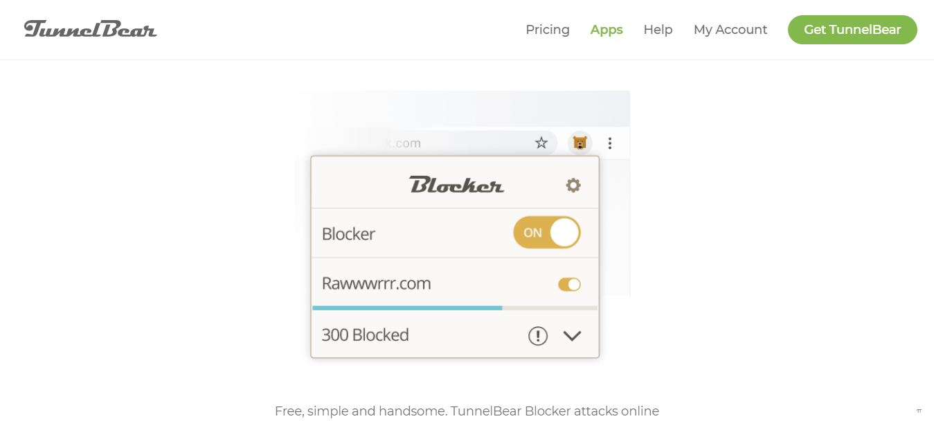 TunnelBear Ad Blocker