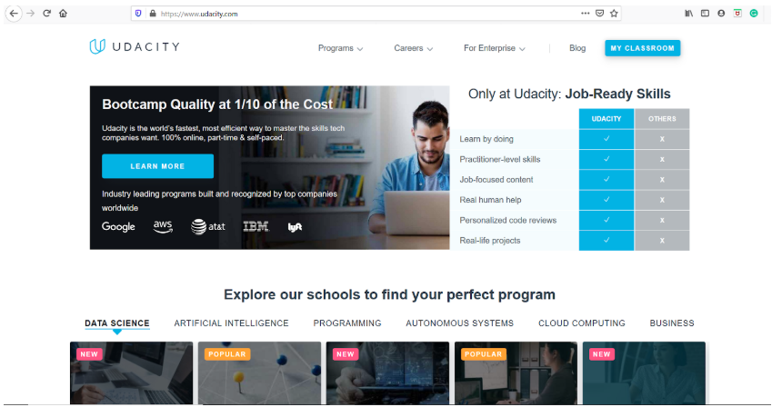 Udacity Overview